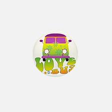 Love Bus Mini Button