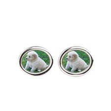 Golden Retriever Puppy Cufflinks