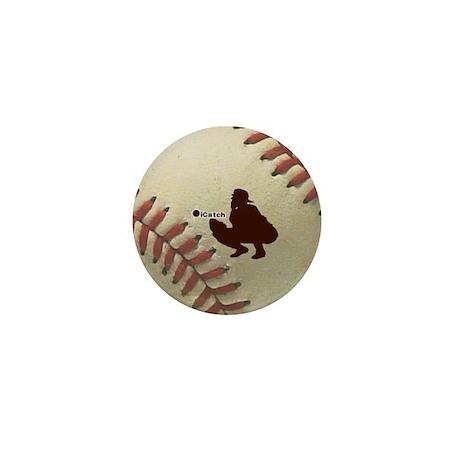 iCatch Baseball Mini Button