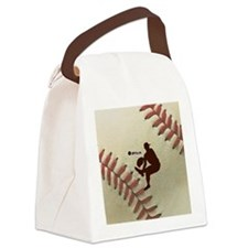 iPitch Baseball Canvas Lunch Bag