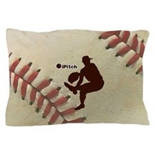 iPitch Baseball Pillow Case
