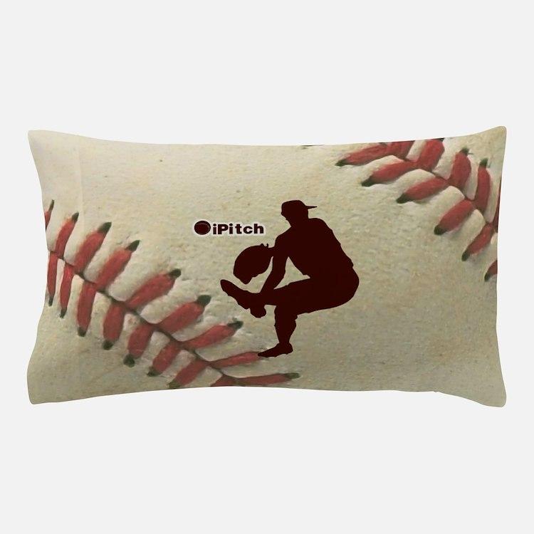 iPitch Baseball Pillow Case
