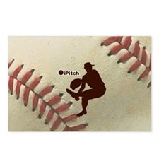iPitch Baseball Postcards (Package of 8)
