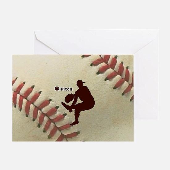iPitch Baseball Greeting Card