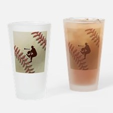 iPitch Baseball Drinking Glass