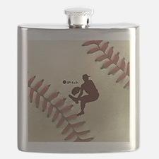 iPitch Baseball Flask