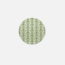 victiorian sage hearts Mini Button