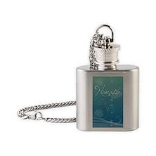 Namaste Kindle Sleeve Flask Necklace