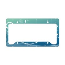 Namaste Aluminum License Plat License Plate Holder