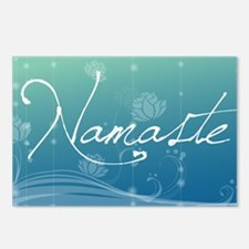 Namaste Laptop Skins Postcards (Package of 8)