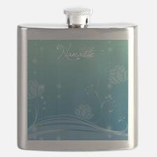 Namaste Square Locker Frame Flask