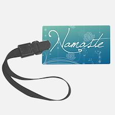 Namaste Rectangular Hitch Cover Luggage Tag