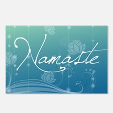 Namaste Rectangular Hitch Postcards (Package of 8)