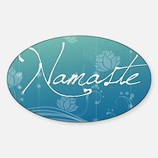 Namaste Rectangular Hitch Cover Decal