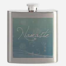 Namaste Square Compact Mirror Flask