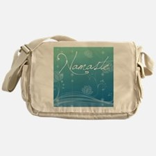 Namaste Puzzle Coasters (set of 4) Messenger Bag