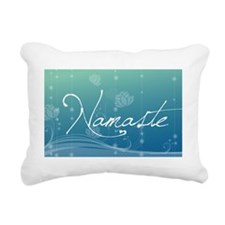 Namaste Oval Car Magnet Rectangular Canvas Pillow