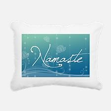 Namaste Oval Car Magnet Rectangular Canvas Pillow