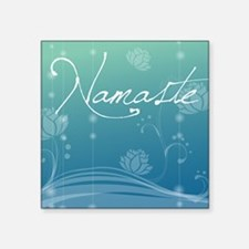 "Namaste Puzzle Coasters (se Square Sticker 3"" x 3"""