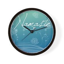 Namaste Puzzle Coasters (set of 4) Wall Clock