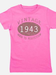 1943 Vintage (Red) Girl's Tee
