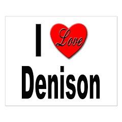 I Love Denison Posters