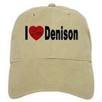 I Love Denison Cap