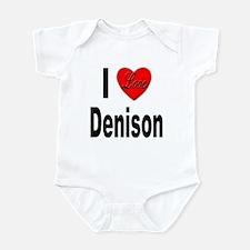 I Love Denison Infant Bodysuit