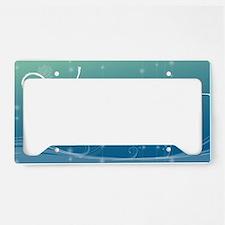 Namaste Key Hanger License Plate Holder