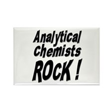 Analytical Chemists Rock ! Rectangle Magnet