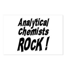 Analytical Chemists Rock ! Postcards (Package of 8
