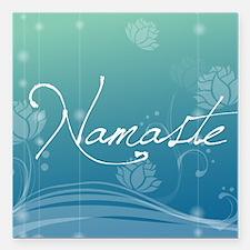 "Namaste Jewelry Case Square Car Magnet 3"" x 3"""