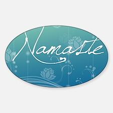 Namaste Glass Cutting Board Large Decal