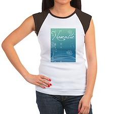 Namaste iPad 2 Cover Women's Cap Sleeve T-Shirt