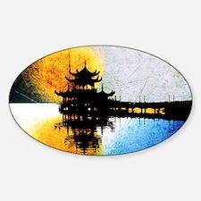 Pagoda Decal