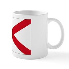 St Patrick's cross Small Mug