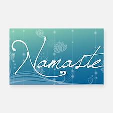Namaste Car Magnet 20 x 12 Rectangle Car Magnet