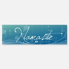 Namaste 36x11 Wall Decal Sticker (Bumper)