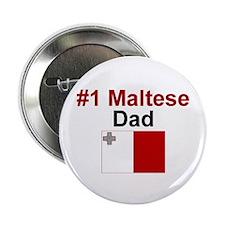 Maltese #1 Dad Button
