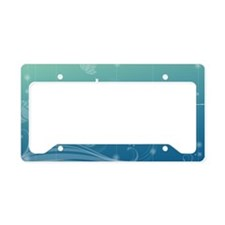Namaste 20x12 Oval Wall Decal License Plate Holder