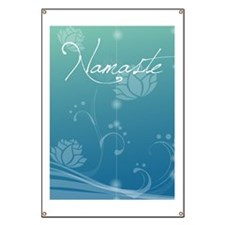 Namaste 84 Curtains Banner