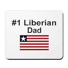 Liberian #1 Dad Mousepad