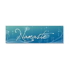 Namaste 20x6 Wall Decal Car Magnet 10 x 3