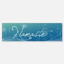 Namaste 20x6 Wall Decal Bumper Bumper Sticker