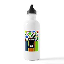 pharmD necklace 5 Water Bottle