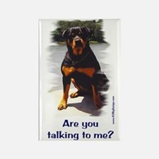 Are you talking to me? Rectangle Magnet