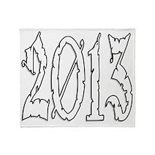 2013 Throw Blanket
