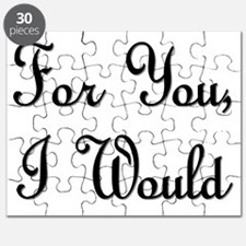 For You I Would Puzzle
