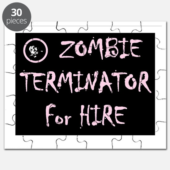 ZOMBIE TERMINATOR FOR HIRE Puzzle