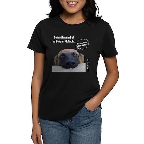 Mind of the Malinois Women's Dark T-Shirt